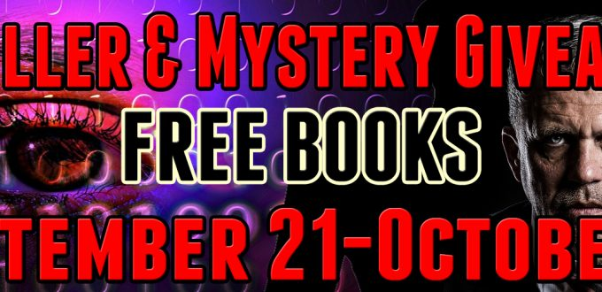 Thriller & Mystery Giveaway