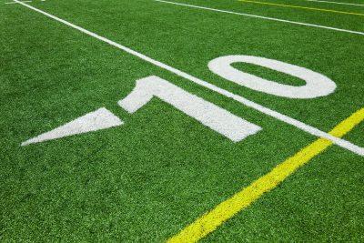Ten yard line - football