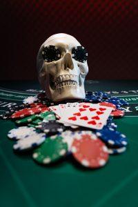 Casino Black Jack table